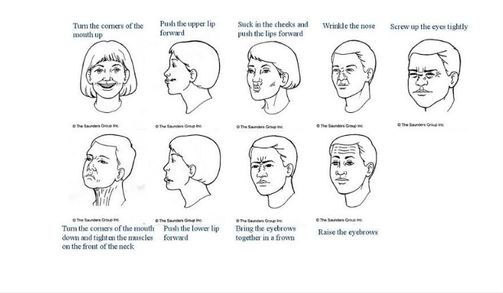 Exercises for Bell's palsy